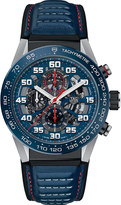 Tag Heuer CAR2A1N.FT6100 Carrera steel and carbon watch