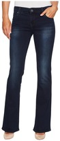 KUT from the Kloth Natalie High-Rise Bootcut in Liberating w/ Euro Base Wash Women's Jeans