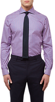 Jaeger Bold Stripe Regular Fit Shirt, Pink