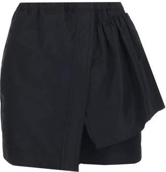 N°21 N21 Wrap Mini Skirt