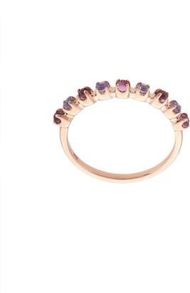 Marlo Laz 14kt rose gold Santa Fe ring