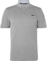 Nike Slim-Fit Printed Dri-FIT Piqué Golf Polo Shirt