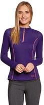 Mountain Hardwear Women's Aliso Long Sleeve Running ZipT - 39768