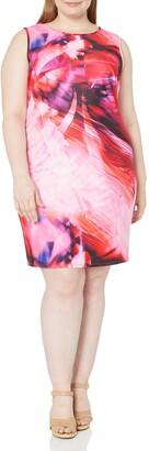 Julia Jordan Women's Plus-Size Floral Shift Dress