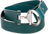 Tod's Evergreen Leather Belt