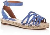 Giorgio Armani Ankle Strap Espadrille Sandals