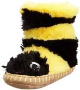 Hatley Slouch - Bee, Girls' Hi-Top Slippers,M Child UK (27/28 EU)
