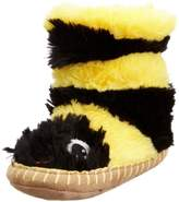 Hatley Slouch - Bee, Girls' Hi-Top Slippers,S Child UK (24-26 EU)