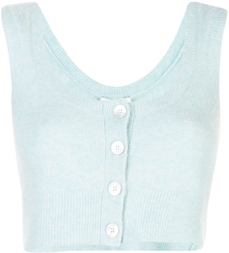 Opening Ceremony cropped sleeveless top