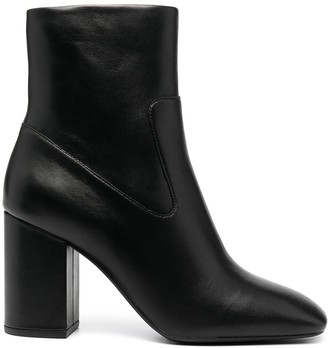 MICHAEL Michael Kors Heeled Leather Ankle Boots