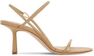 Studio Amelia 75mm Leather Sling Back Sandals