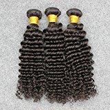 Vinsteen New Arrival Deep Wave Hair Brazilian Hair Extensions 8''-30'' Natural Color 3 Piece 100g/pcs (12 12 12)