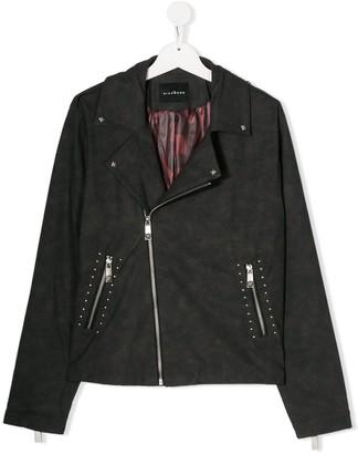John Richmond Junior TEEN studded biker-style jacket