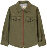 Bellerose Sale - Leho Striped Overshirt Jacket