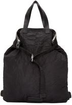 McQ by Alexander McQueen Black Nylon Backpack