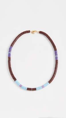 Maison Monik Maroon Multi Necklace
