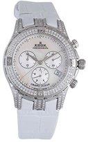 Edox Women's 10404 3DB NAD Grand Ocean Chronograph Mother of Pearl Diamond Watch