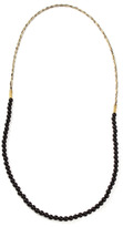 Lulu Frost G. Frost X Michael Bastian - Horsehair Beaded Necklace Blk
