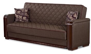 """Thumbnail for your product : Winston Porter Hali 87"""" Square Arm Sleeper"""