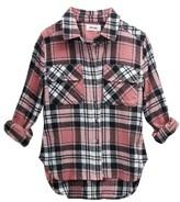 Girl's Maddie Plaid Woven Shirt