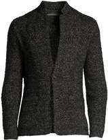 John Varvatos Classic Wool & Linen Knit Blazer