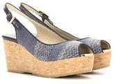 Jimmy Choo Praise Wedge Sandals