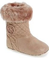 MICHAEL Michael Kors 'Kelly' Crib Shoe (Baby)