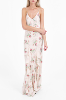 Vilshenko Georgette Print Maxi Dress