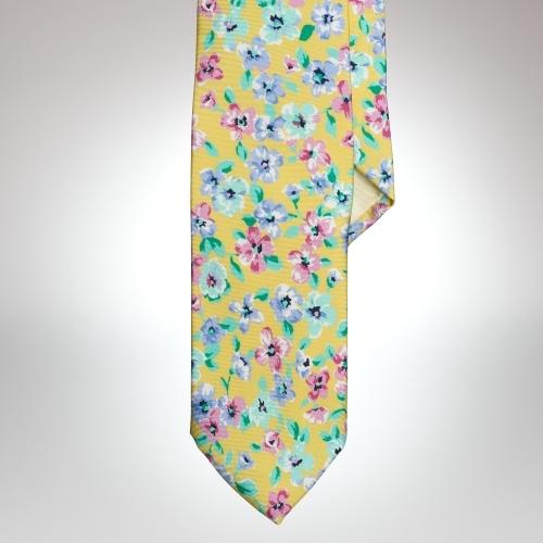 Polo Ralph Lauren Floral Silk Tie