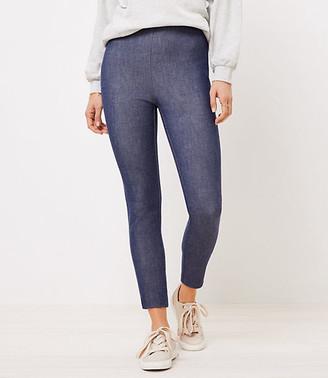LOFT The Tall Side Zip Skinny Pant