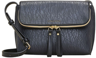 Calvin Klein Elaine Zip Around Crossbody Bag
