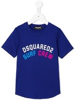 DSQUARED2 Surf Crew print T-shirt - kids - Cotton - 4 yrs