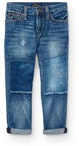 Ralph Lauren 2-7 Sullivan Slim Repaired Jean