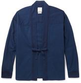 Visvim Overdyed Cotton Oxford Overshirt