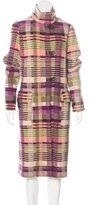 Missoni Wool & Mohair-Blend Coat