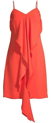 Trina Turk Starry Drape-Front Dress