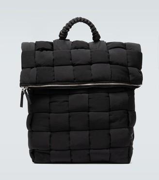 Bottega Veneta Intrecciato nylon backpack