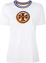 Tory Burch Malibu logo T-shirt - women - Cotton - S