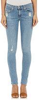 Rag & Bone Women's Mid-Rise Skinny Jeans-BLUE