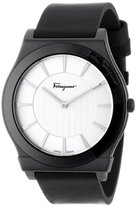 "Salvatore Ferragamo Men's FQ3010013 ""1898"" Watch with Leather Band"