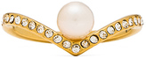 Vita Fede V Crystal & Pearl Ring