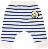 Stella McCartney Striped Cotton Interlock Sweat Pants