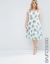 Asos Kate Lace Midi Dress In Bouquet Floral