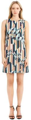 M Missoni Printed Sleeveless Shift Dress