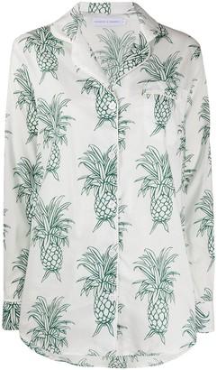 Desmond & Dempsey Howie Pineapple Signature pyjama set