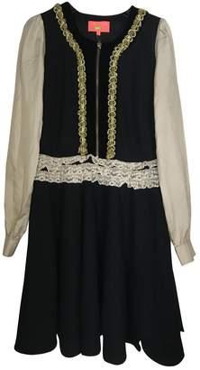 Manoush Black Wool Dress for Women