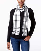 Charter Club Windpine Plaid Woven Scarf, Created for Macy's