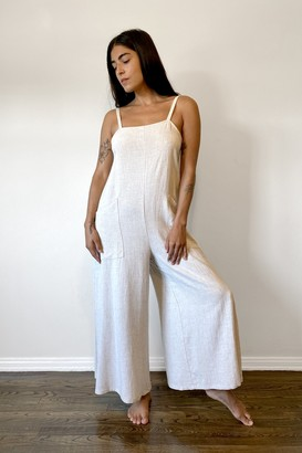 Rachel Pally Linen Hugo Jumpsuit