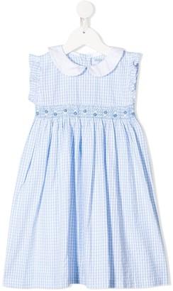 Siola Gingham Print Dress