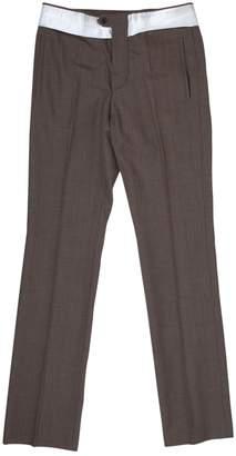 Prada Brown Wool Trousers